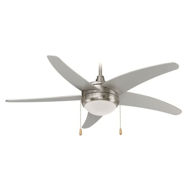 """Miseno MFAN-5201LED 50"""" Indoor Ceiling Fan - Includes 5 MDF Blades and LED Light Kit"""
