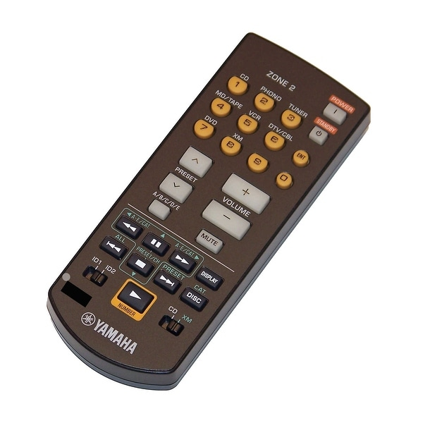 OEM Yamaha Remote Control Originally Shipped With: RX797, RX-797