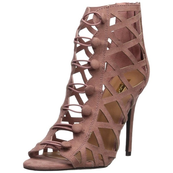 Qupid Women's Ara-388 Heeled Sandal