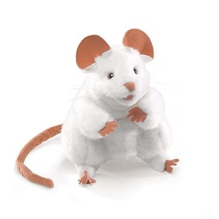 Puppets White Mouse