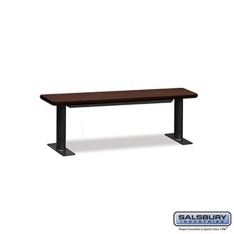 SalsburyIndustries Designer Wood Locker Benches, 60 in. Wide -