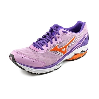 Mizuno Wave Rider 16 Women Round Toe Canvas Purple Running Shoe