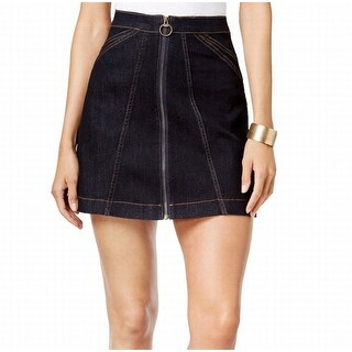 Buffalo David Bitton NEW Blue Women's Size 33 A-Line Denim Skirt