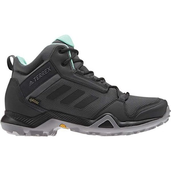 Shop adidas Women s Terrex AX3 Mid GORE-TEX Hiking Shoe Grey Five Black Clear  Mint - Free Shipping Today - Overstock - 26877998 ae314f88e