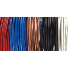 Primary - 22 Gauge 5/Pkg - Plastic Coated Fun Wire Value Pack 9' Coils
