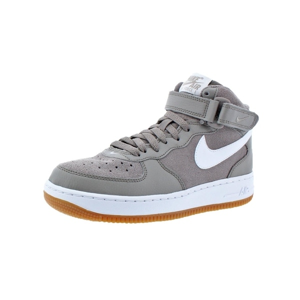 sports shoes 952c9 1adec Nike Boys Air Force 1 Mid Fashion Sneakers Big Kid High-Top - 5.5 medium