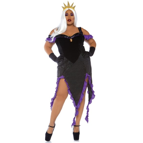 womens plus size ursula sultry sea witch costume