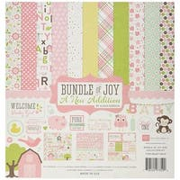 Echo Park Paper  12 x 12 in. Collection Kit Bundle of Joy Baby Girl