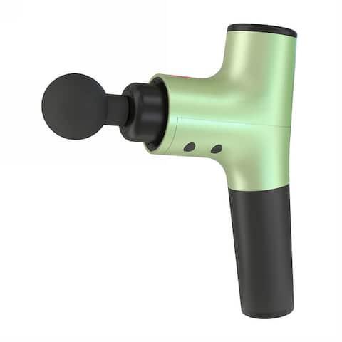 Hi5 Nova Vibration Personal Deep Tissue Percussion Ultra Quiet Massage Gun with 4 Head Attachment and Gift Box