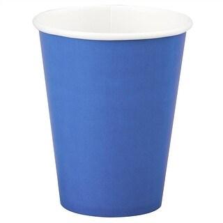 12oz Blue Paper Cups
