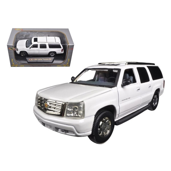 Shop 2004 Cadillac Escalade ESV Pearl White 1/32 Diecast