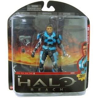 Halo Reach Series 6 Action Figure: Kat (No Helmet) - multi