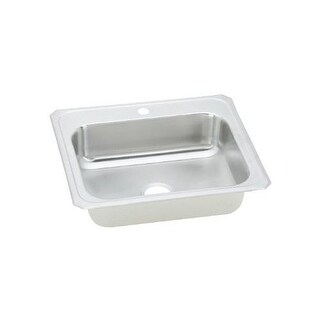 """Elkay CR1721 Celebrity 17"""" Single Basin 20-Gauge Stainless Steel Bar Sink for Drop In Installations with SoundGuard Technology"""