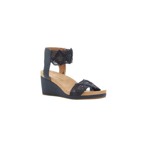 Lucky Brand Womens Kierlo Open Toe Casual Platform Sandals