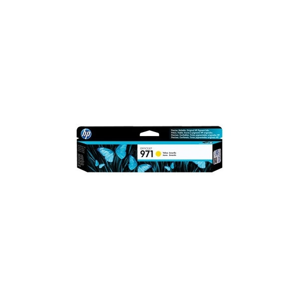 HP 970XL High Yield Black Original Ink Cartridge (CN624AM)(Single Pack)