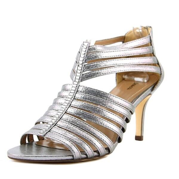 Style & Co Shayna Women Open Toe Leather Slides Sandal