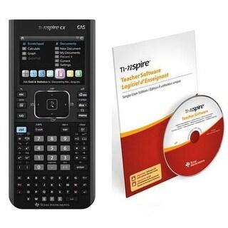 Texas Instruments N3cas/Cbx/2L1/E Ti Nspirecx Cas Teacher Bundle