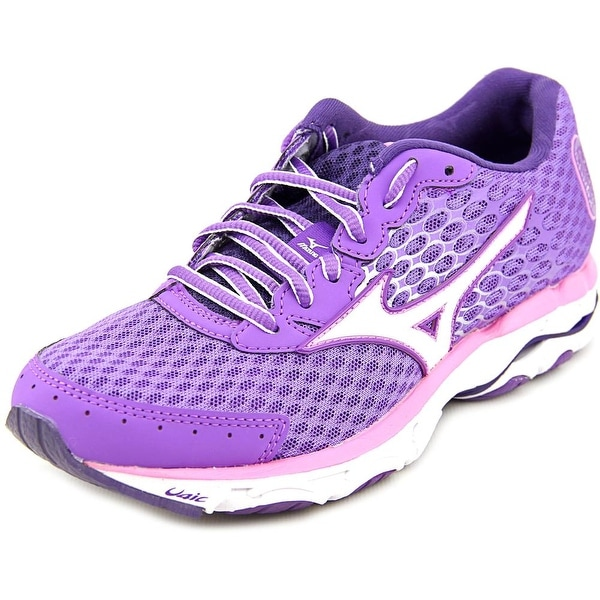 Mizuno Wave Inspire 11 Women D Round Toe Synthetic Purple Running Shoe