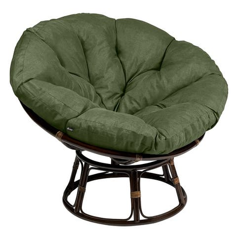 Classic Accessories Montlake Water-Resistant 50 Inch Papasan Cushion (Chair is not included)