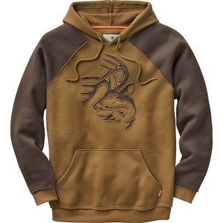 Legendary Whitetails Mens Vintage Deer Camp Hoodie - Barley