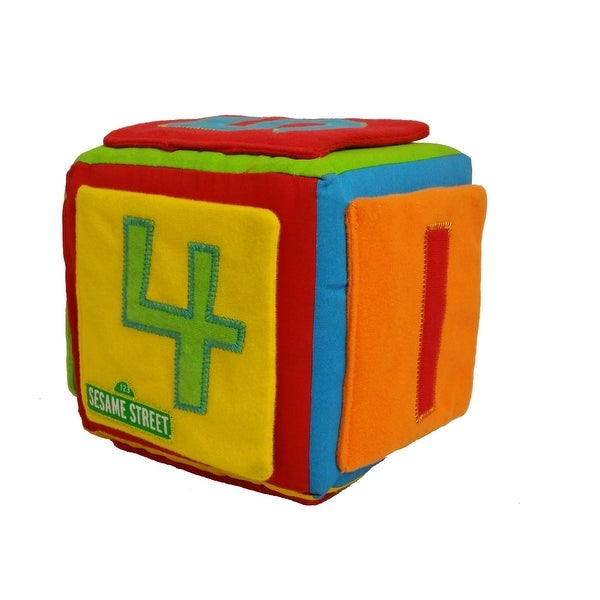 Gund Sesame Street Shapes & Colors Activity Cube