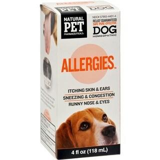 King Bio Homeopathic Natural Pet Dog - Allergies - 5 oz Pet Supplements