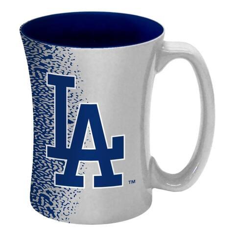 Los Angeles Dodgers Coffee Mug - 14 oz Mocha