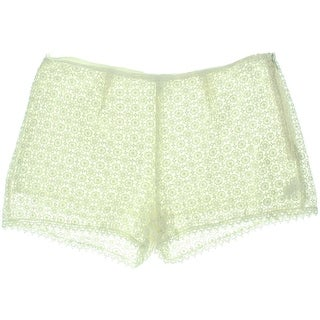 Joie Womens Crochet Lined Casual Shorts - 8