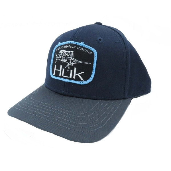61dc3b9ed5dc0 Shop Huk Sail Drift Navy One Size Cap - Free Shipping On Orders Over  45 -  Overstock - 27296279