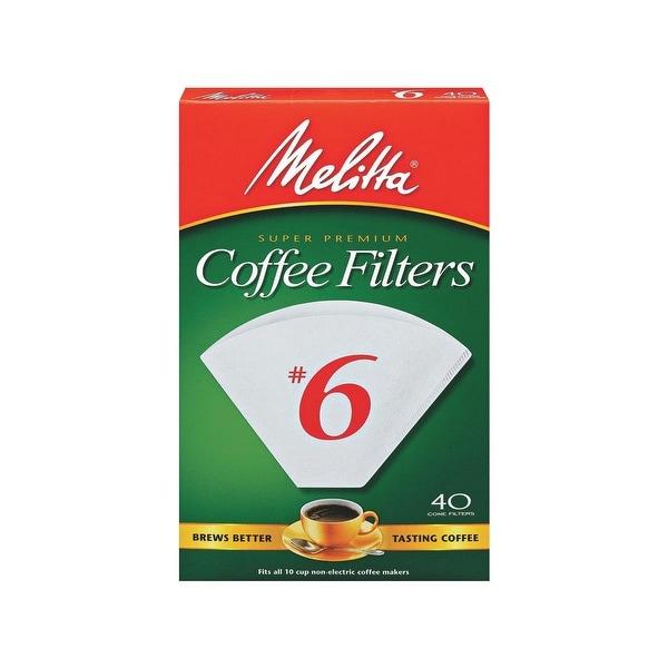 Melitta #6 Cone Coffee Filter