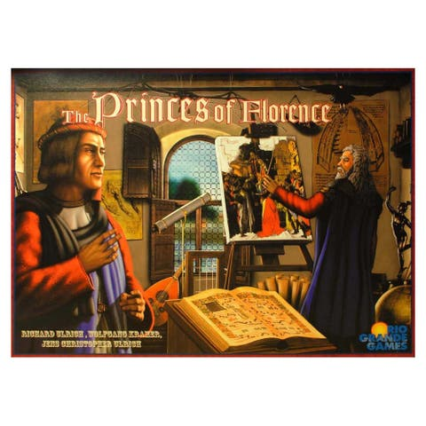 Princes of Florence Board Game - Multi