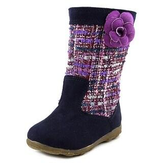 Stride Rite Mira Round Toe Leather Boot