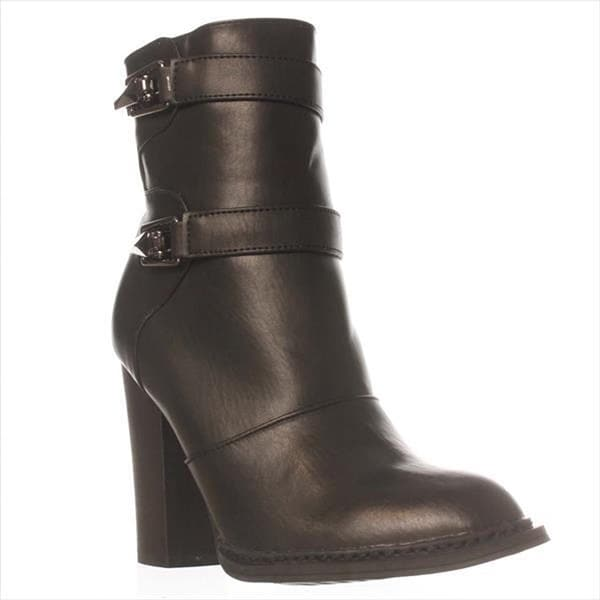 Just Fab Womens Pavlik Closed Toe Ankle Fashion Boots
