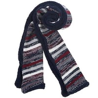 Mad Style Navy Sherpa Lined Mega Scarf