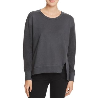 Parc and Pearl Womens Bottle Sweatshirt Slouchy Ribbed Trim