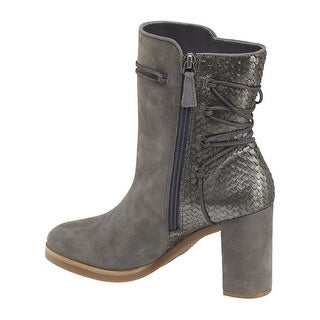 Johnston & Murphy Womens adley Suede Almond Toe Ankle Fashion Boots - 8.5