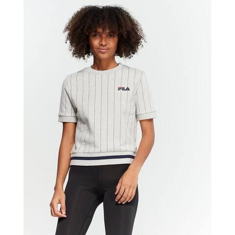 Fila Women's Bren Sweatshirt, Grey (XL)