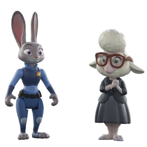 Disney Zootopia Character 2-Pack Judy Hopps & Bellwether Figures - multi