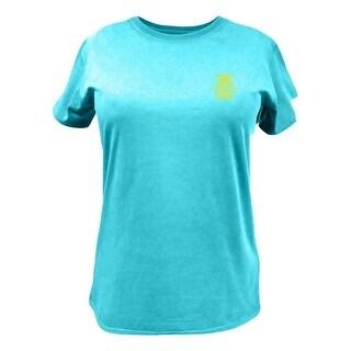 John Deere Western Shirt Women FFA Short Sleeve Turquoise 23005402