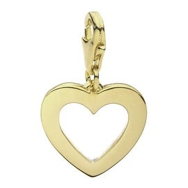 Julieta Jewelry Heart Outline Clip-On Charm