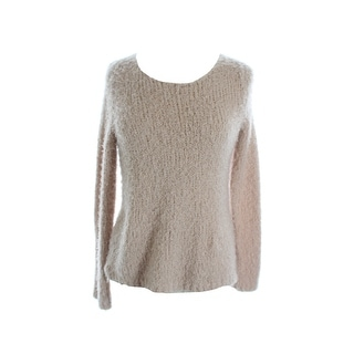 Studio M New Pink Soft Fuzzy Sweater  M