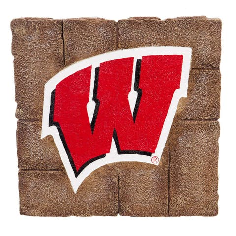 Wisconsin Badgers Garden Paver Stepping Stone