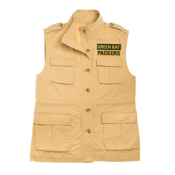 Shop Little Earth NFL Womens Military Vest 531d48bc5