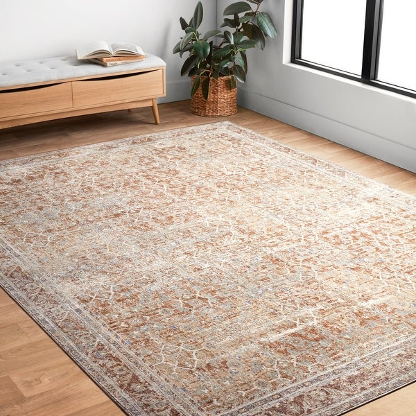 Alexander Home Austen Antique Washed Inspired Area Rug. Opens flyout.