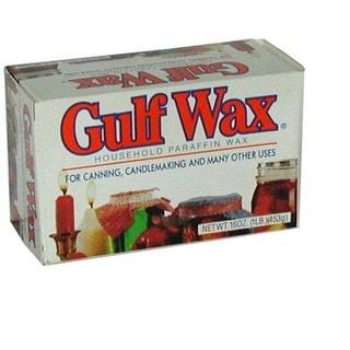 Gulf Wax 00973 Pure Paraffin Wax, 1 lbs