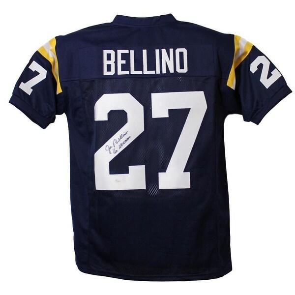 6e4b2c9ce66 Shop Joe Bellino Autographed Navy Midshipmen Blue XL Jersey JSA - Free  Shipping Today - Overstock - 13483436