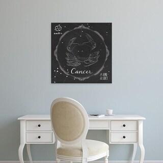 Easy Art Prints Sara Zieve Miller's 'Night Sky Cancer' Premium Canvas Art