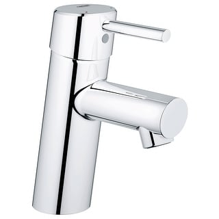 Grohe 34 271 A  Concetto 1.2 GPM New Bathroom Faucet with SilkMove Cartridge Less Drain Assembly