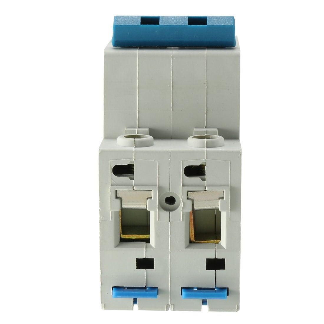 Short circuit Breaker Dz47-63 10-63A 2p AC 400V Breaker Switch Mini Overload