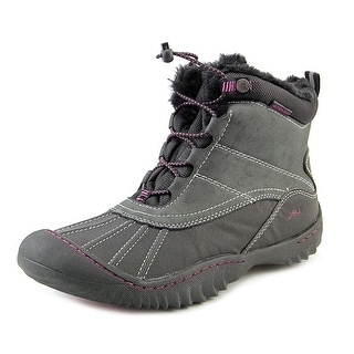 JBU by Jambu Pullman Women Black Snow Boots
